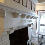 Cheminée dans le Petit Hôtel à Biarritz